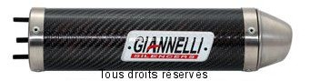 Product image: Giannelli - 34650HF - Silencer  DRD PRO 50 SM '06   EU Approved Silencer  Carbon