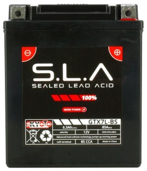 Product image: Kyoto - 512070 - Battery  Ytx7l-bs SLA AGM - Without Acid. Ready to Use