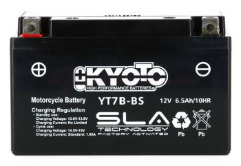 Product image: Kyoto - 512077 - Battery  YT7B-BS SLA-AGM - Without Acid. Ready to Use