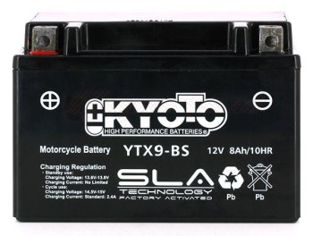 Product image: Kyoto - 512090 - Battery  YTX9-BS SLA-AGM - Without Acid. Ready to Use