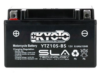 Product image: Kyoto - 512104 - Battery  YTZ10S-BS SLA-AGM - Without Acid. Ready to Use