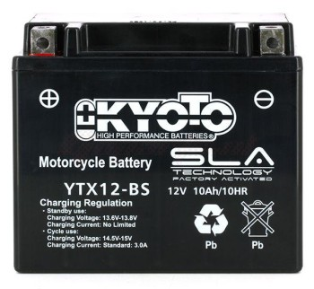 Product image: Kyoto - 512120 - Battery  YTX12-BS SLA-AGM - Without Acid. Ready to Use