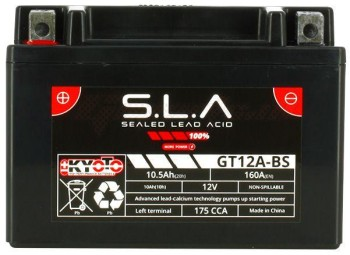Product image: Kyoto - 512128 - Battery  YT12A-BS SLA-AGM - Without Acid. Ready to Use