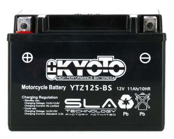 Product image: Kyoto - 512129 - Battery  YTZ12S-BS SLA-AGM - Without Acid. Ready to Use