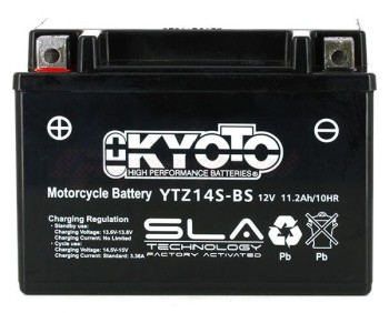 Product image: Kyoto - 512139 - Battery  Ytz14s-bs SLA-AGM - Without Acid. Ready to Use