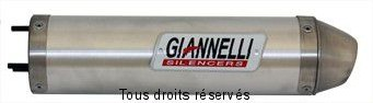 Product image: Giannelli - 54027 - Silencer  DTR 125 R 89/90  Silencer  Alu