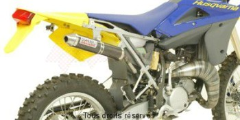 Product image: Giannelli - 54609HF - Silencer HUSQVARNA WRE 125 05/06  SM 125 05/06  EU Approved Silencer  Carbon