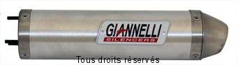 Product image: Giannelli - 54611HF - Silencer HUSQVARNA WRE 125 09/10  Hom. Silencer  Alu