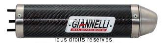 Product image: Giannelli - 54614HF - Silencer HUSQVARNA WRE 125 09/10  Hom. Silencer  Carbon