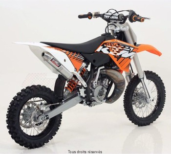 Product image: Giannelli - 55008HF - Silencer Racing Alu KTM SX 65 2010/2011