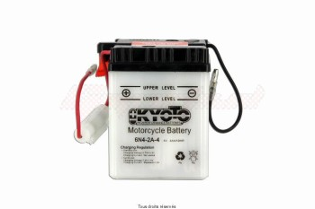 Product image: Kyoto - 706042 - Battery 6n4-2a-4 L 71mm  W 71mm  H 96mm 6v 4ah Acid 0,19l