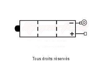 Product image: Kyoto - 706044 - Battery 6n4a-4d  L 58mm  W 62mm  H 131mm 6v 4ah Acid 0,2l