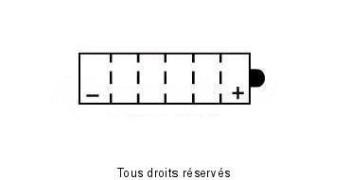 Product image: Kyoto - 712052 - Battery 12n5-3b L 121mm  W 61mm  H 131mm 12v 5ah Acid 0,39l