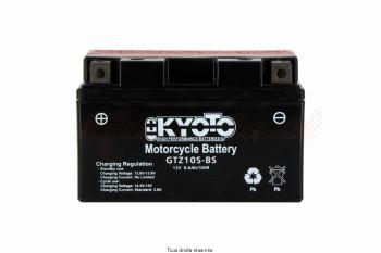 Product image: Kyoto - 712104 - Battery Ytz10s-bs - Ss Entr. AGM L 150mm  W 87mm  H  93mm 12v 8.6ah Acid 0.43l