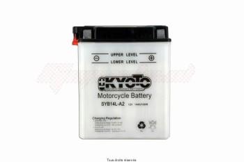 Product image: Kyoto - 712150 - Battery Syb14l-a2 L 135mm  W 91mm  H 167mm 12v 14ah Acid 0,87l