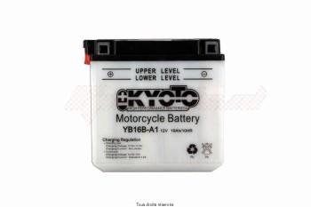 Product image: Kyoto - 712158 - Battery Yb16b-a1 L 162mm  W 92mm  H 162mm 12v 16ah Acid 1,3l