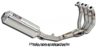 Product image: Giannelli - 73715A6K - Exhaust Supersport  TMAX 01/07   Hom.  Complete exhaust with Silencer  Alu