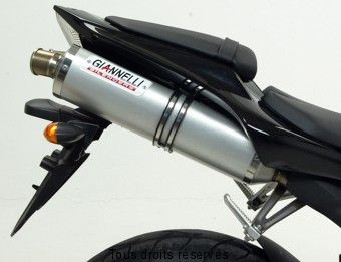 Product image: Giannelli - 73725A6 - Silencer Supersport  R1 07/08 SlipOn Alu (G + D) Approved