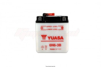Product image: Yuasa - 806064 - Battery 6n6-3b L 99mm  W 57mm  H 110mm 6v 6ah