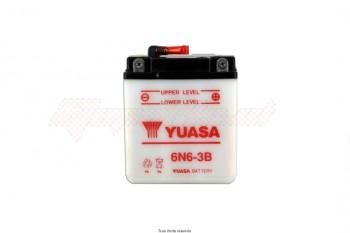 Product image: Yuasa - 806064 - Battery 6n6-3b L 99mm  W 57mm  H 110mm 6v 6ah