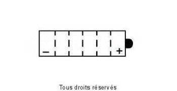Product image: Yuasa - 812057 - Battery 12n5.5a-3b L 103mm  W 90mm  H 114mm 12v 5.5ah
