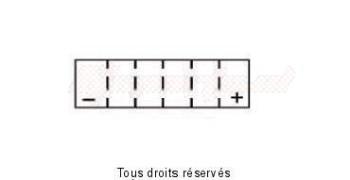 Product image: Yuasa - 812070 - Battery Ytx7l-bs - Ss Entr. AGM L 114mm  W 71mm  H 131mm 12v 6ah