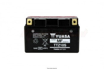 Product image: Yuasa - 812104 - Battery TTZ10-S - AGM L 150mm  W 87mm  H  93mm 12v 8ah Delivery with Acid