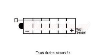 Product image: Yuasa - 812150 - Battery Syb14l-a2 L 135mm  W 91mm  H 167mm 12v 14ah