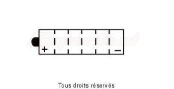 Product image: Yuasa - 812158 - Battery Yb16b-a1 L 162mm  W 92mm  H 162mm 12v 16ah