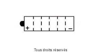 Product image: Yuasa - 812162 - Battery Yb16b-a L 162mm  W 92mm  H 162mm 12v 16ah