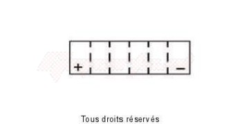 Product image: Yuasa - 813104 - Battery YTZ10-S - AGM L 150mm  W 87mm  H  93mm 12v 8ah Sealed Original