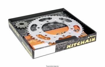 Product image: Sifam - 95H012528-SH - Chain Kit Honda Cg 125 Bresil Super Reinforced year 92 94 Kit 14 41