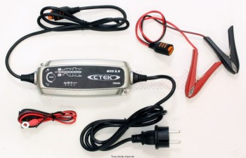 Product image: CTek - ACCUB50 - Battery Charger Moto / Auto and Quads - 8 6 Charge stepse:14.4V - de 0.8A till  5A