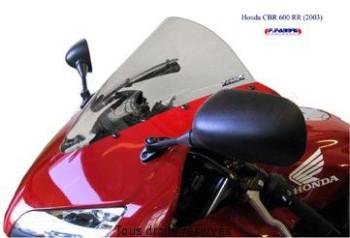 Product image: Fabbri - BULHR043C - Windscreen Solo Pista Honda Clear Cbr600 2003 Racing