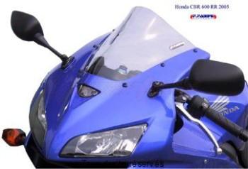 Product image: Fabbri - BULHR058C - Windscreen Solo Pista Honda Clear Cbr 600 2005 Racing