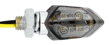 Product image: Sifam - CLI7052 - Micro Indicator Universal - LED - Homologation CE - Chrome/Smoke