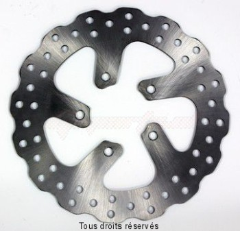 Product image: Sifam - DIS1009W - Brake Disc Aprilia  Ø220x80x60  Mounting holes 5xØ8 Disk Thickness 4