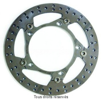Product image: Sifam - DIS1040 - Brake Disc Honda  Ø296x166x144  Mounting holes 5xØ10,5 Disk Thickness 5