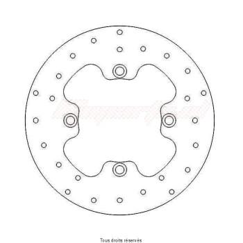 Product image: Sifam - DIS1057 - Brake Disc Honda Ø256x110X94  Mounting holes 4xØ8,5 Disk Thickness 6