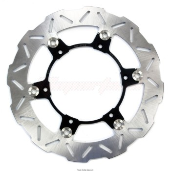 Product image: Sifam - DIS1077W - Brake Disc  Ø260x135x124  Mounting holes 6xØ6,3 Disk Thickness 4