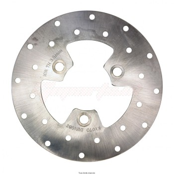 Product image: Sifam - DIS1082 - Brake Disc Kymko Ø180x80x58.5  Mounting holes 3xØ10,5 Disk Thickness 3.8