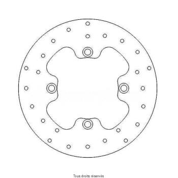 Product image: Sifam - DIS1113 - Brake Disc Kawasaki  Ø184x100x84  Mounting holes 4xØ9,5 Disk Thickness 4