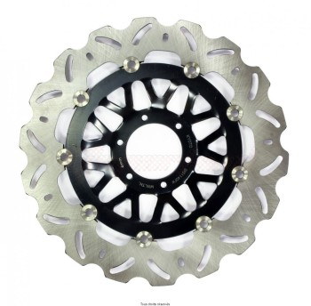 Product image: Sifam - DIS1140FW - Brake Disc Honda Ø296x78x62   Mounting holes 6xØ6,5 Disk Thickness 5  ET-Offset 17,5