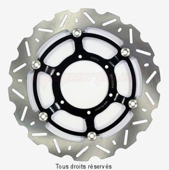 Product image: Sifam - DIS1163FW - Brake Disc Honda Ø296x110x94  Mounting holes 6xØ6,5 Disk Thickness 4,5  ET-Offset 12,5
