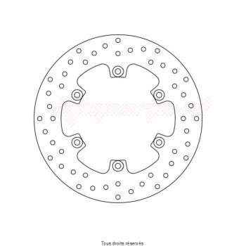Product image: Sifam - DIS1213 - Brake Disc Yamaha  Ø267x150x132  Mounting holes 6xØ8,5 Disk Thickness 5
