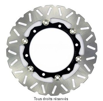 Product image: Sifam - DIS1332FW - Brake Disc Yamaha Ø267x150x132  Mounting holes 6Ø8,5  Disk Thickness 4