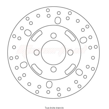 Product image: Sifam - DIS5012 - Brake Disc Mbk Ø180x66x48  Mounting holes 4xØ10,5 Disk Thickness 4