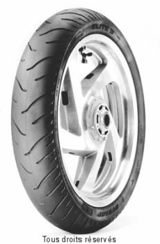 Product image: Dunlop - DUN621265 - Tyres street - custom 130x70 R 18.   Front  ,   Brand : Dunlop,  Description :130x70 R 18,  ELITE 3,  63H TL AV,  .   Banden straat - custom 130x70 R 18