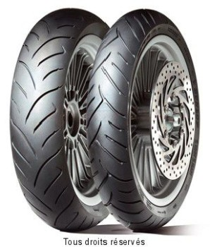 Product image: Dunlop - DUN630039 - Tyre   120/80-14 58S TL SCOOTSMART SCOOTSMART 58S TL