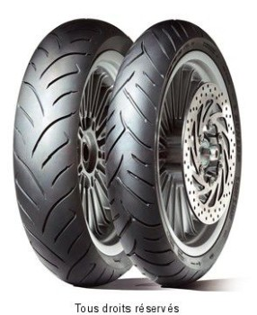 Product image: Dunlop - DUN630951 - Tyre   100/90-10 56J TL SCOOTSMART SCOOTSMART